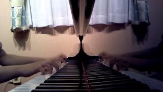 中三女子が大好きな金爆をピアノで弾いてみました!!(^ー^)耳コピクオリテ...
