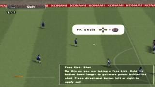 PES 2013 PS2 Free Kicks Tutorial