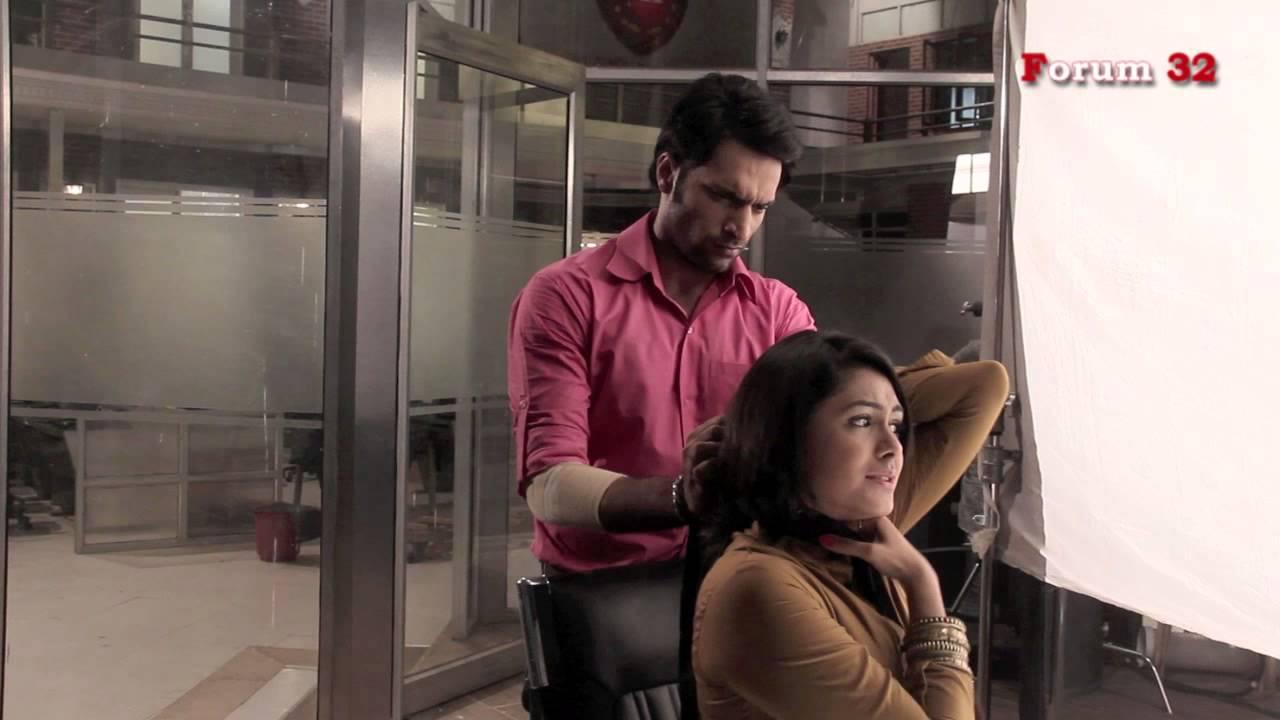 Arjun - BTS - Shaleen and Mrunal shooting the choking scene | Screen Journal