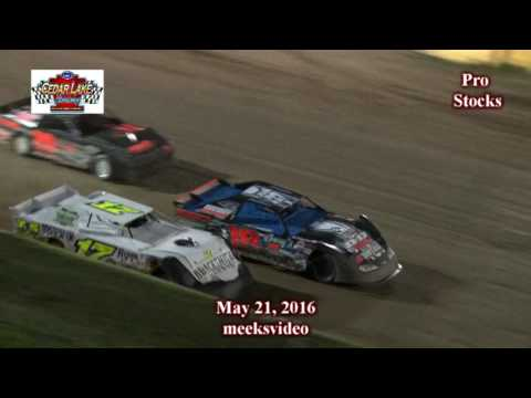 5-21-2016 Nascar Prostocks Cedar Lake Speedway
