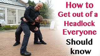 How to get out of a headlock everyone should know - Wing Chun