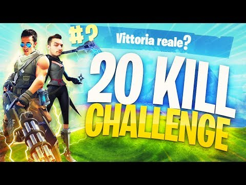 20 KILL CHALLENGE - LA MIGLIOR PARTITA DEL DUO LEGGENDARIO con Rohn