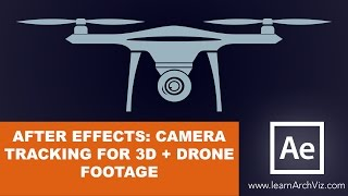 Camera Track Drone Footage Using After Effects 3d Camera Track