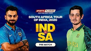 Live India vs South Africa   |  Prematch Show