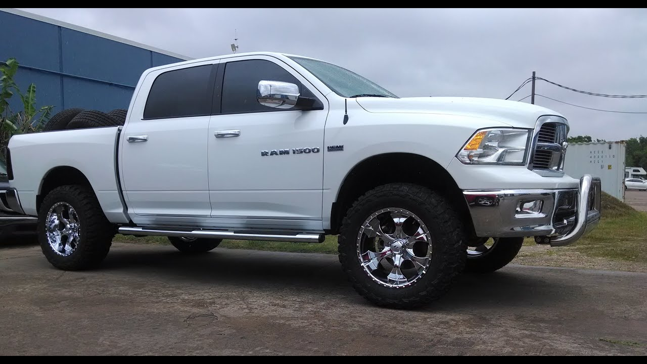 lifted 2012 dodge ram 1500 hemi 2wd maxtrac suspension off road parts lift kits reklez youtube - 2015 Dodge Ram Lifted