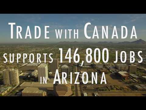 Canada & Arizona Trade in 65 Seconds