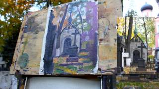 Пленэр в городской среде - Обучение живописи. Масло. Введение, 27 серия
