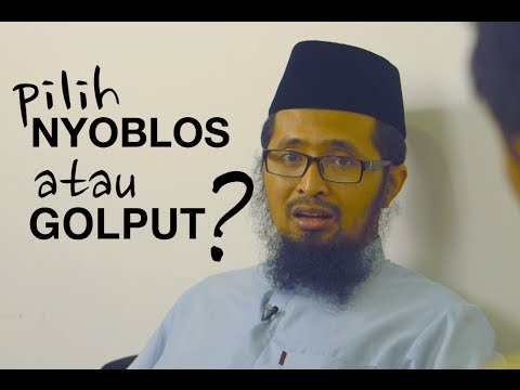 Obrolan Santai Menjelang Pemilu: Pilih Golput atau Nyoblos? - Dr. Muhammad Arifin Badri