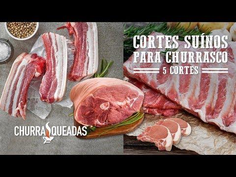 5 Cortes Suínos para Churrasco