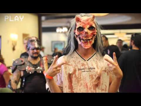 Spooky Empire at the Wyndham April 2016