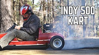 3X Horsepower & Massive Burnouts!! | Indy 500 Go Kart Engine Swap