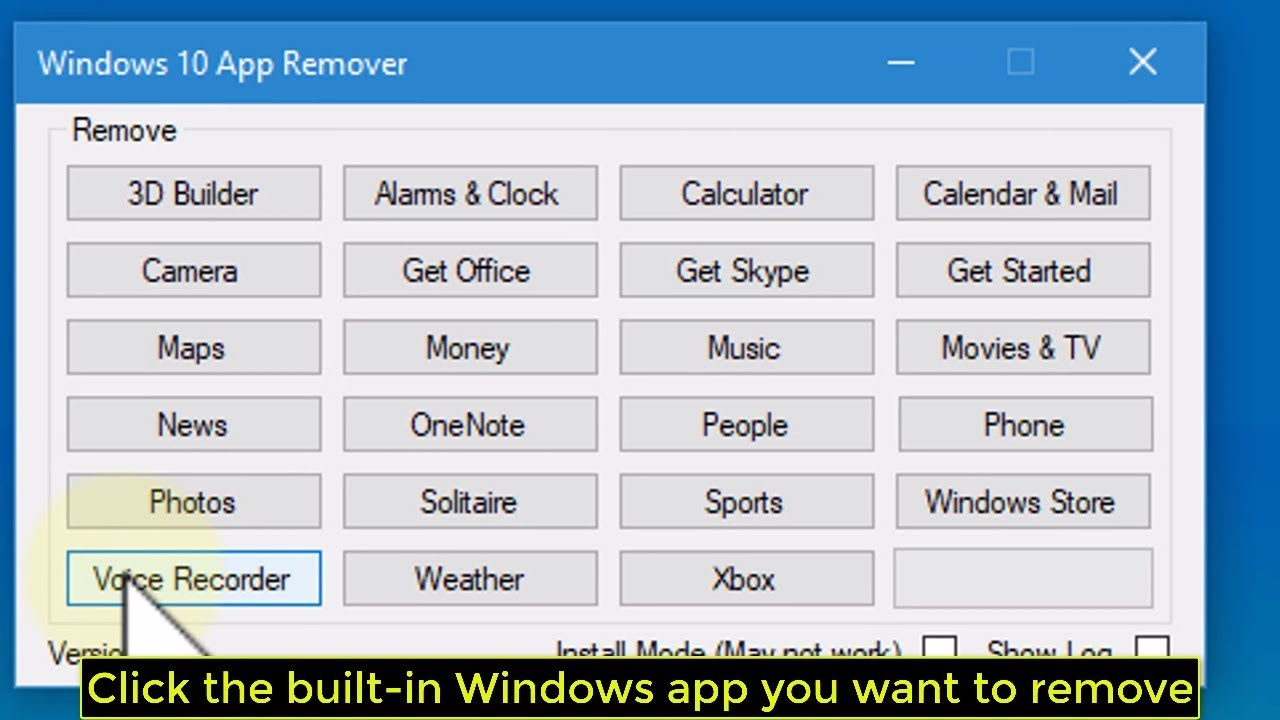 How to Uninstall Windows 10\u0027s Built-in Apps - Tutorial - YouTube