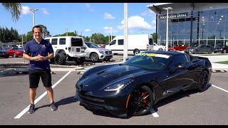 Is a 2016 C7 Corvette Stingray the BEST used sports car for under $40k?