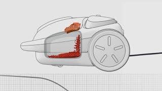 Hitachi Vacuum Cleaner - Auto Suction Booster
