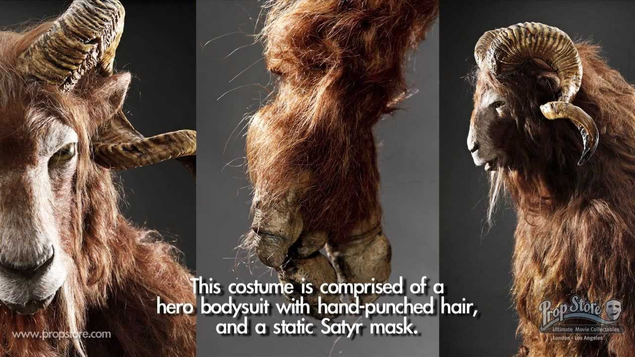 Chronicles Of Narnia Complete Satyr Costume Youtube