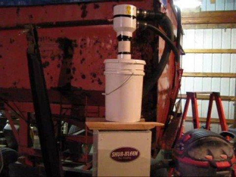 Corn Cleaner setup