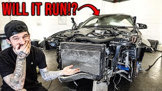 REBUILDING MY WRECKED BMW M4