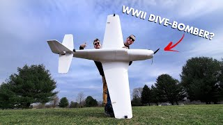 Can This Giant P-51 Mustang Fly?!! 😱