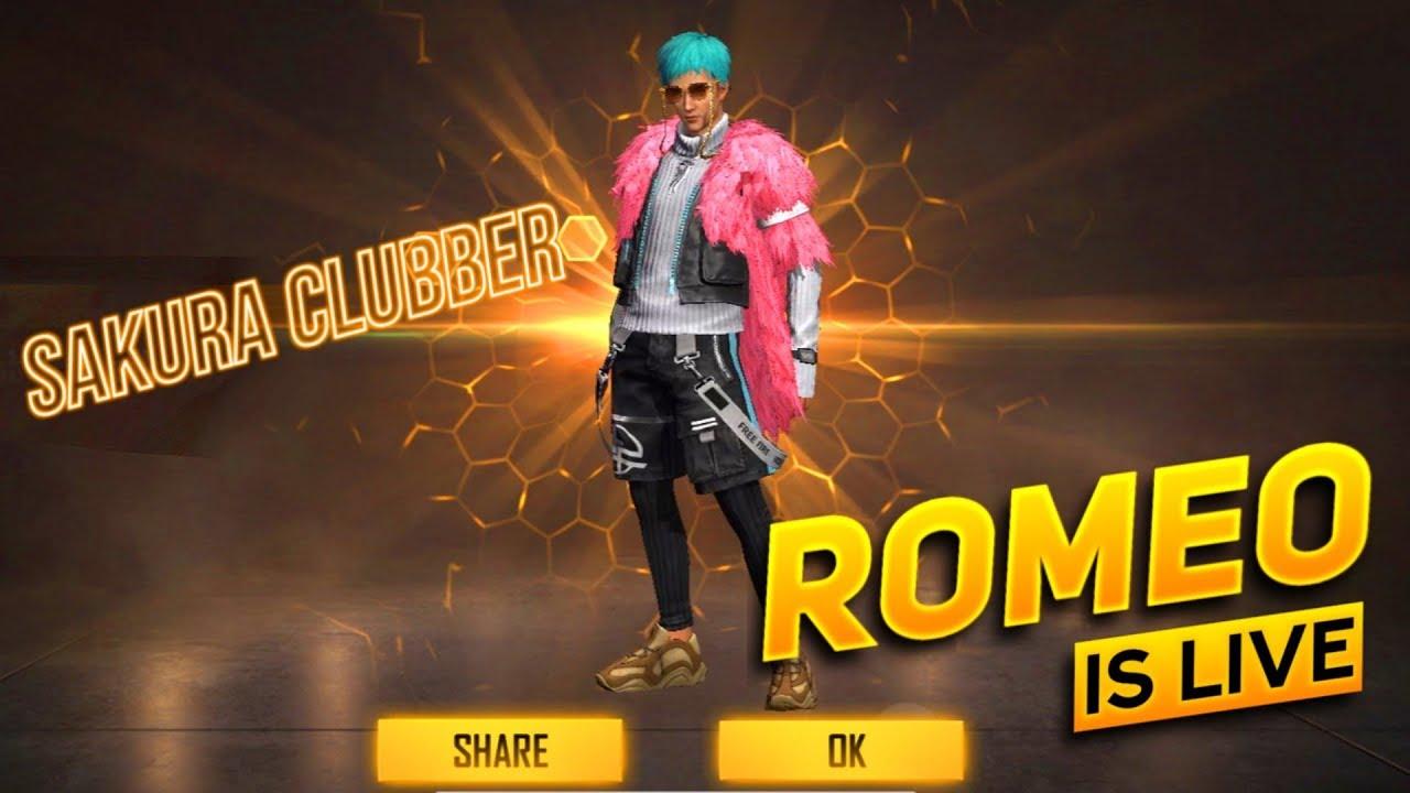 Free Fire Live Romeo Is Live Mast Gameplay AO VIVO
