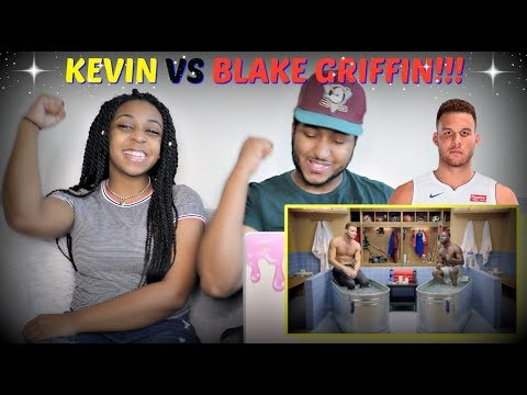 """Kevin Hart on Blake Griffin Not Playing for OKC in """"Cold as Balls"""" REACTION!!!"""