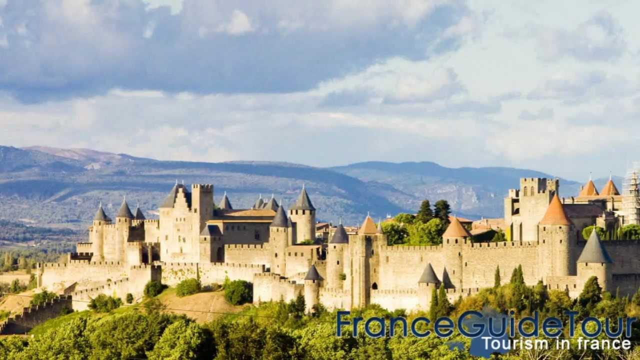 la cit de carcassonne patrimoine de l 39 unesco tourisme aude franceguidetour youtube. Black Bedroom Furniture Sets. Home Design Ideas