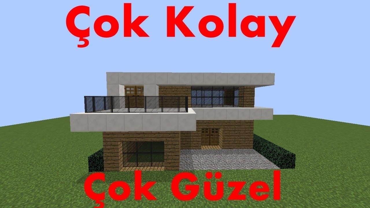 Minecraft: Modern Ev Yapımı - #2