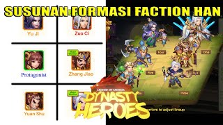 Susunan Formasi Faction Han   Dynasty Heroes - Legend Of Samkok