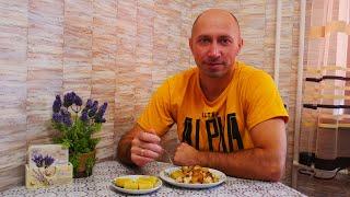 Жареная картошка с луком и курицей ВКУСНО и ПРОСТО Как жарить картошку с луком