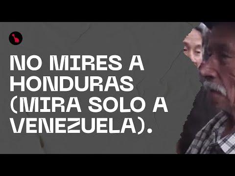 NO MIRES A HONDURAS (mira solo a Venezuela).
