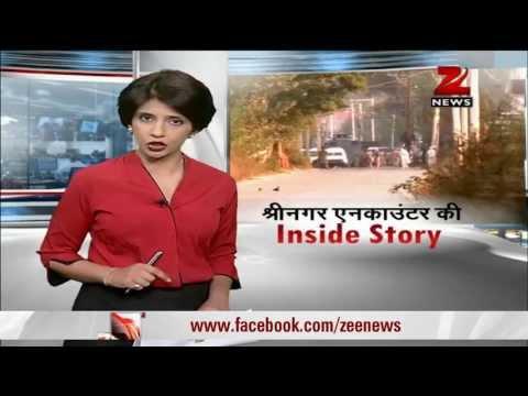 Srinagar encounter ends, terrorists manage to escape