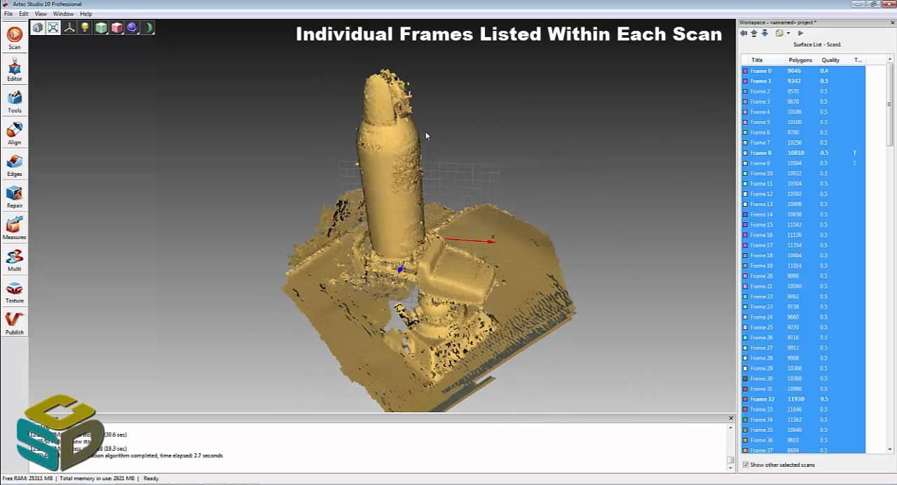 CSDS Presents: Artec Eva 3D & Geomagic Control by 3D Systems