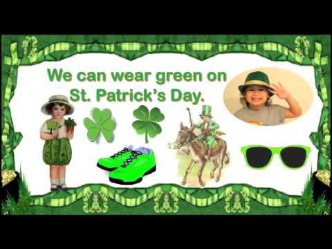 St Patrick's Day Song for Children with Lyrics (Find Lyrics in the Description, too)