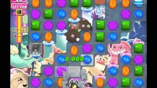 Candy Crush Saga Level 1414 (No booster, 3 Stars)