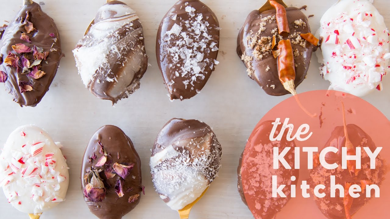 hot cocoa spoons // the kitchy kitchen - youtube
