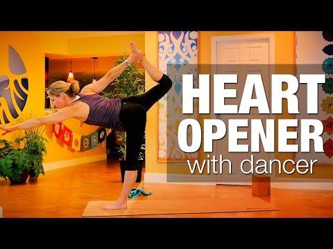 Heart Opener w Dancer Yoga Class - Five Parks Yoga