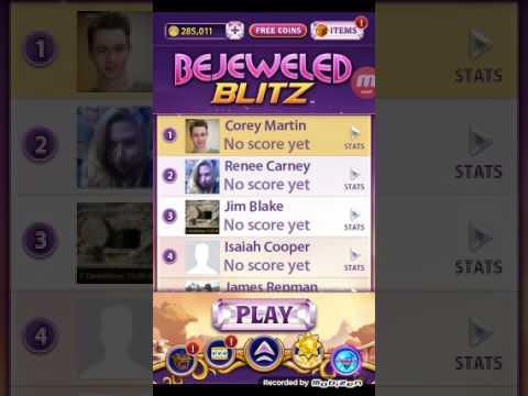 Bejeweled Blitz game testing.