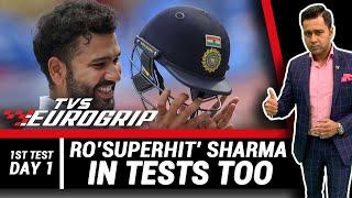 Ro'SUPERHIT' Sharma in TESTS too   'TVS Eurogrip' presents #AakashVani   Cricket Analysis