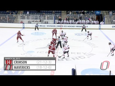 Hockey Highlights: Omaha vs. Harvard (NCAA Regionals)