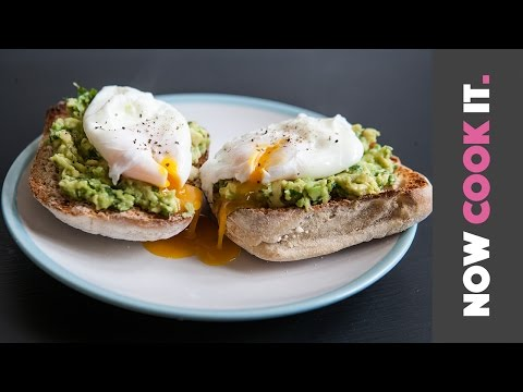 Avocado Toast With Poached Eggs Recipe