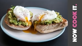 Avocado Toast With Poached Eggs Recipe