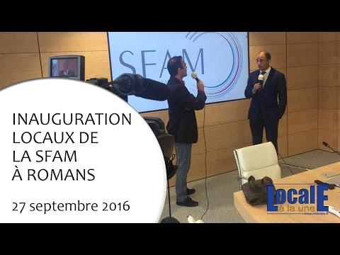 Inauguration SFAM de Romans 27 09 2016