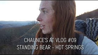 Chaunce's AT Vlog #09: Standing Bear - Hot Springs