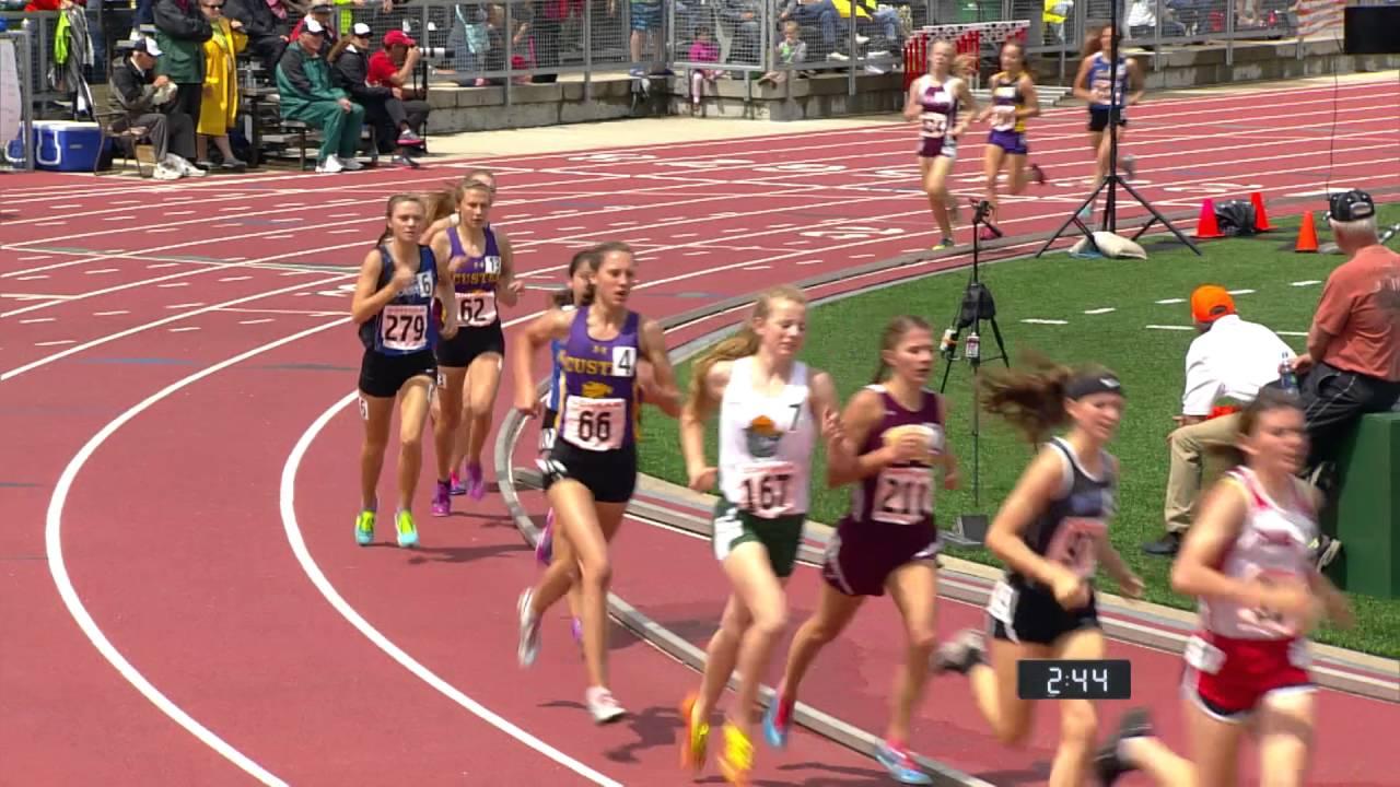 Girls A 1600 meter run - YouTube