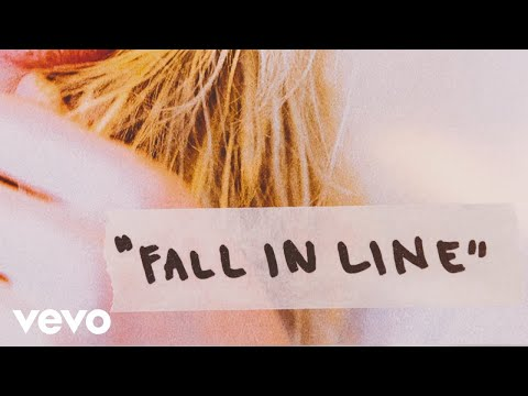 Christina Aguilera - Fall In Line (Lyric Video) ft. Demi Lov