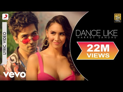 Dance Like - Official Lyric Video   Harrdy Sandhu   Lauren Gottlieb  B Pra...