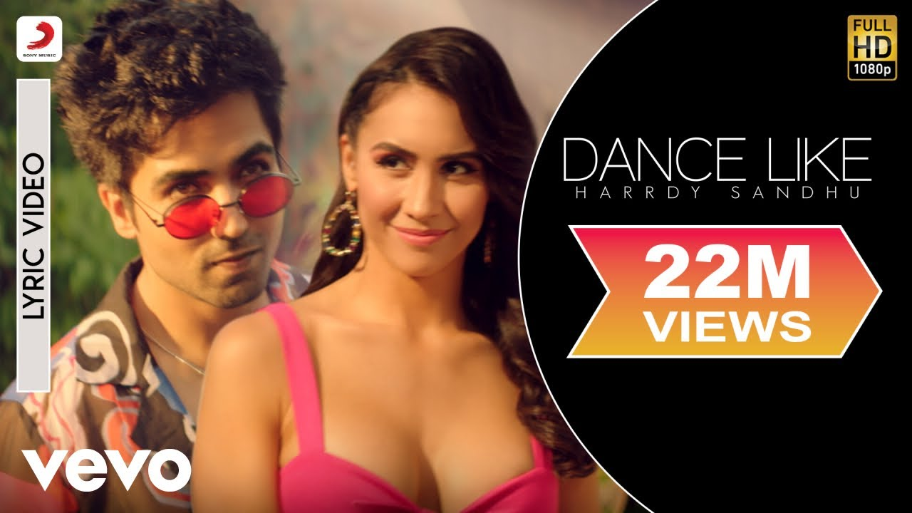 Dance Like - Official Lyric Video song   Harrdy Sandhu   Lauren Gottlieb  B Praak Jaani