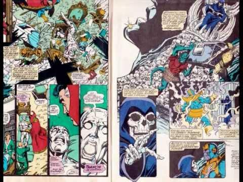 infinity gauntlet comics. avengers infinity war easter eggs a scene