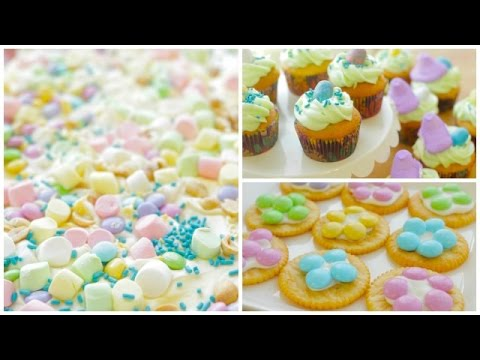 3 Quick Easy Easter Desserts Simply Bakings Youtube
