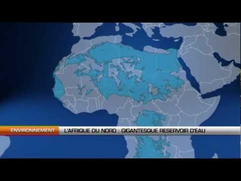 Afrique du nord, gigantesque réservoir d'eau