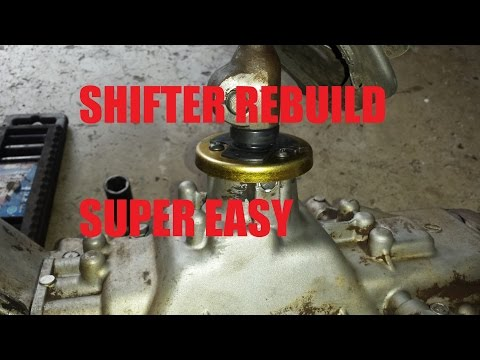 how to fix a loose gear shifter manual
